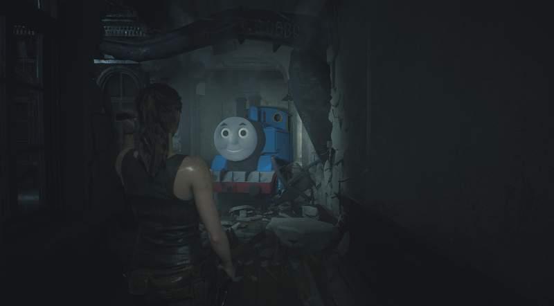 《惡靈古堡》MOD大魔王竟變「惡魔版湯瑪士小火車」 玩家:比原版還要可怕