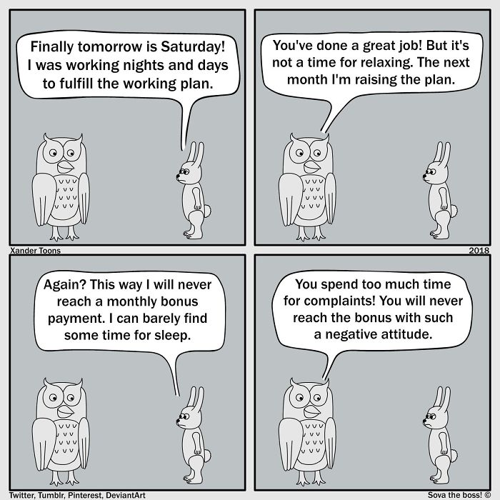 10個「讓社畜哭著點頭」的小黑暗職場漫畫 說是改獎勵制度...下場卻更不人道!