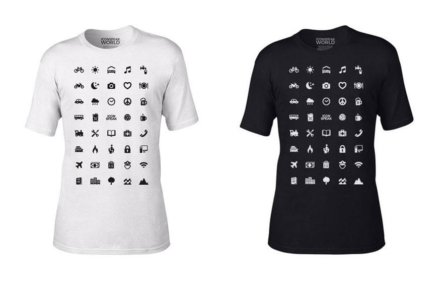 世上最方便不會當地語言也可「用圖案來說話」的旅遊T恤 1根手指玩遍全世界!