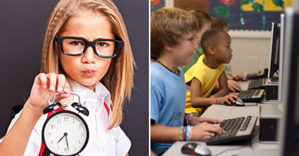 學校宣佈為了孩子好要把「傳統時鐘全撤掉」 他公布「超扯原因」:都是科技害的!