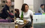 為了2020密謀?他釣蝦一半發現「蔡英文+柯文哲」坐對面 轉頭一看大驚:韓國瑜也在!