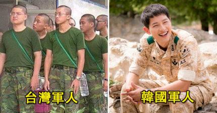 她看不下去台灣軍人「總是被嫌不夠歐爸帥」 霸氣貼出「3張照片」網友直接戀愛❤