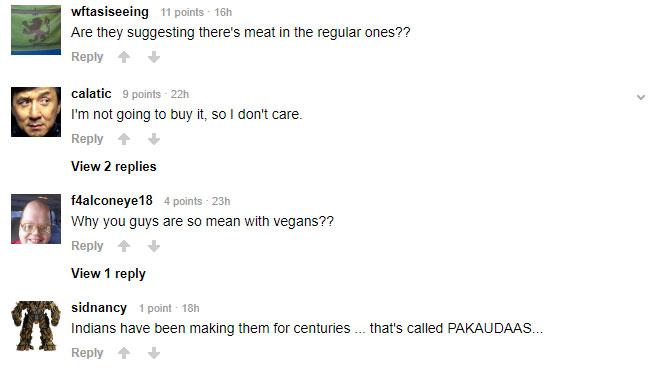 麥當勞推出「素食麥克雞塊」內容物超豐富 不過卻被廣大網友罵翻