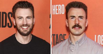 17張「為什麼男人都不用整形」剃鬍子前後對比圖 沒有毛的雷神...霸氣全失!