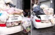 超噁鄰居把「私家車→垃圾車」快把他逼瘋 崩潰發文環保局卻回:她沒問題!