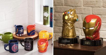 超商獨家推出限量「復仇者超帥周邊」 投幣「無限手套」寶石還會亮!