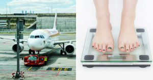 航空公司擬推登機前「先量體重」來減碳 乘客只要超過「標準數字」就要加錢!