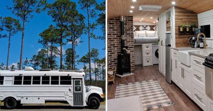 18個把「破爛貨車→行動豪宅」超狂改造成品 夢幻「北歐露營風格」讓網嘆:不用買房子了