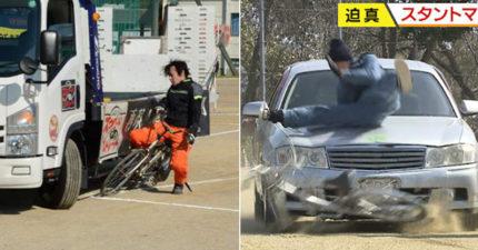 日本道安演習「悲劇真的發生」 全校學生目睹「捲倒車底」嚇出陰影