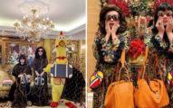 超狂母子專穿「買一送一的詭異服裝」爆紅 潮牌搶合作:他們太時尚了!