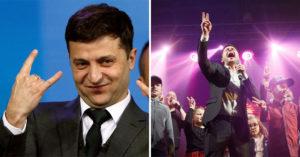 烏克蘭諧星演「喜劇裡的領導者」演到「假戲真做」 7成得票率當選總統!