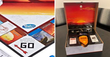 遊戲公司推「獅子王版大富翁」角色全實體化 抽到命運卡「主題曲馬上啟動」粉絲超嗨!