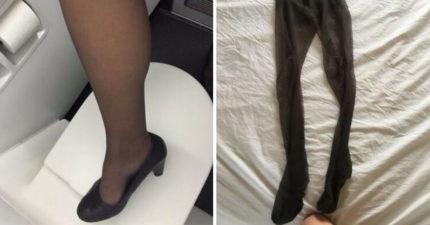 苦命空姐上網賣「溫感絲襪」賺錢被罵翻 薪水曝光「比行情少2/3」超心酸!