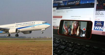 網紅搭飛機不顧安全「硬要開直播」 粉絲好心提醒卻回嗆:8萬罰金是小事!
