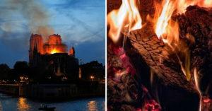 法國人還在難過「聖母院變灰燼」陰影 不良商「去現場撿燒焦木材」上網賣引眾怒:喪盡天良!