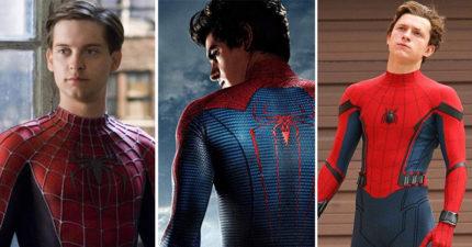蜘蛛人「歷代戰服大比拼」帥氣度越來越犯規 陶比麥奎爾竟然不是第一代!