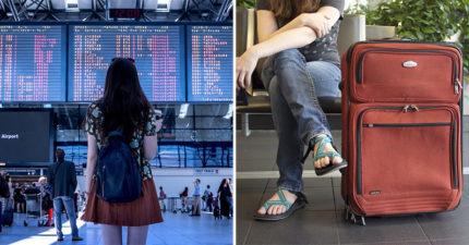 小氣妹拒付超重費把「4公斤行李」穿身上 崩潰喊:我快燒起來了!