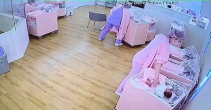 護理師放棄地震黃金逃生時間「肉身護嬰」 網看到「安撫動作」大讚:有妳們真好!