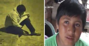 小男童半夜坐路邊「照路燈寫功課」 男童媽心疼大哭:他想拯救國家!