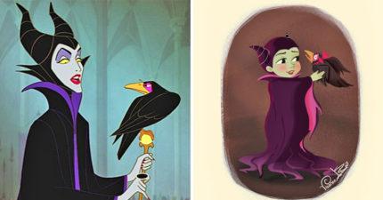 15個讓你忘記他很討厭「迪士尼反派小時候」可愛模樣 壞皇后真的比白雪還正!