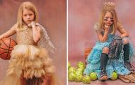 她聽到女兒被稱讚「長得很少女」 隔天馬上幫她拍「穿球鞋的公主照」讓其他爸媽瞬間被打醒!