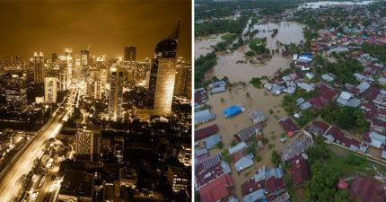 雅加達2030年「恐被大海吞沒」 印尼總統「準備遷首都」千萬人民卻堅持不願逃
