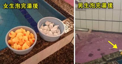 日本在澡堂放可愛鴨子...卻意外觀察到「男女超大差異」!男生都在「玩鴨」網笑瘋:根本浪漫主義