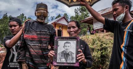 印尼拖拉雅族「超特殊清明儀式」 親手開棺「把亡者叫起來」上街開趴!