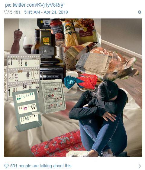 網瘋傳凌亂房間照放大卻「念不出任何一個東西的名字」網友崩潰:是被詛咒的照片!