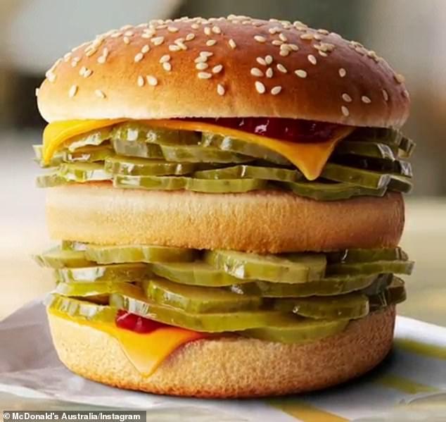 麥當勞愚人節推出「酸黃瓜MAX漢堡」 粉絲買不到暴動敲碗:錢拿去,不准騙人!