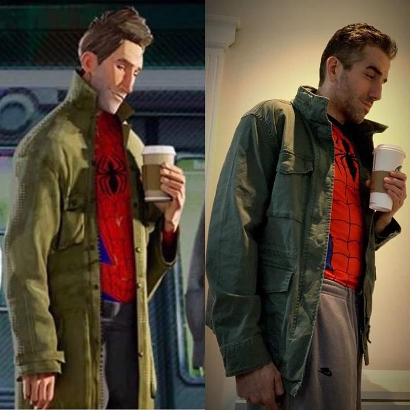 超猛Coser神還原《蜘蛛人:新宇宙》!連「中年發福肥肚」都超級像...網直呼:這是本人吧