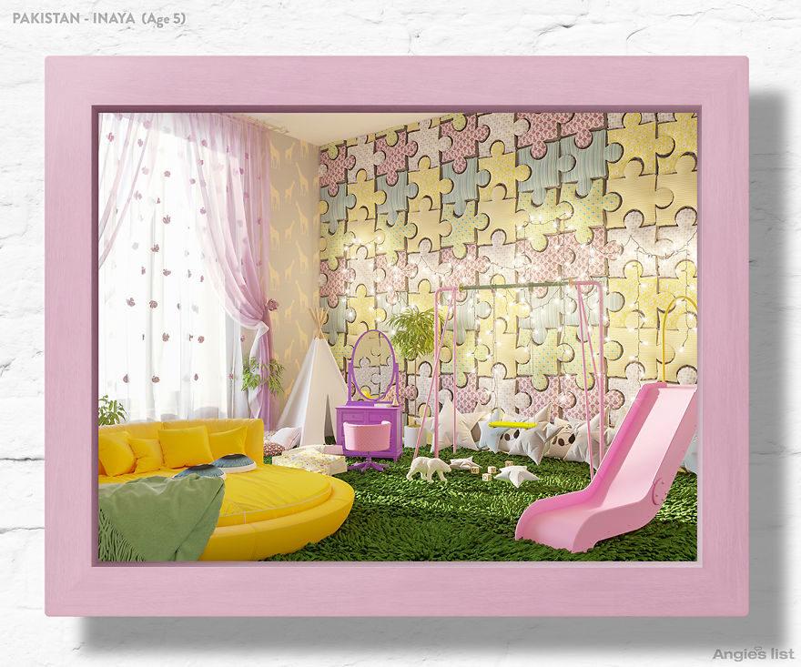 工作室請小孩畫出「夢想中的臥室」幫它變成現實!7歲男孩的「泰山風臥室」網讚:好想住❤