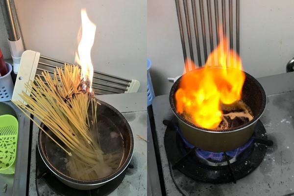日網友分享「吃下去感覺會出事」的黑暗料理 完美章魚燒翻過來「變黑碳球」!