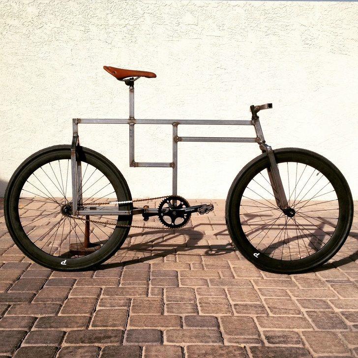 14個「把垃圾變成寶藏」的超強DIY 自己做「方形自行車」太強了!