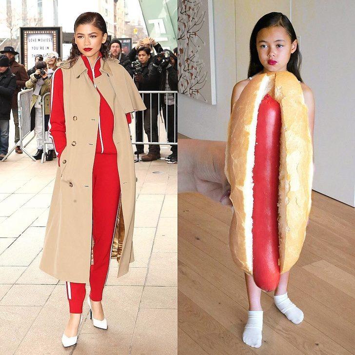 20個創意小妹妹還原度超高「低成本名人cosplay」 幾片鬆餅就能「秒變艾瑪史東」!