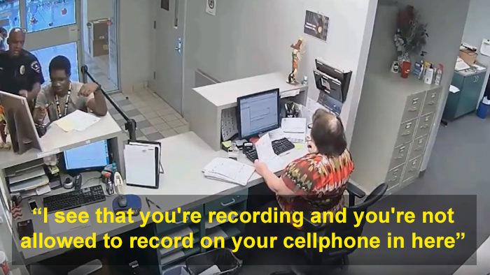 他問警察「申訴單在哪?」 他們秒翻臉暴露「比黑道還恐怖」的一面狠嗆:我有辦法讓你進去蹲!