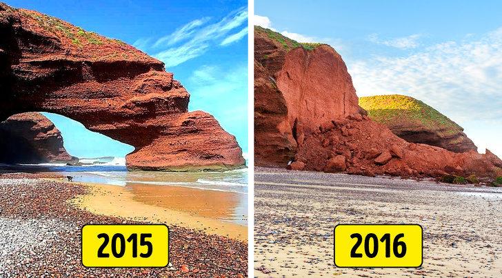 7個「被白目遊客毀掉」的熱門旅遊景點 屁孩花30秒推倒「3.2億年歷史」