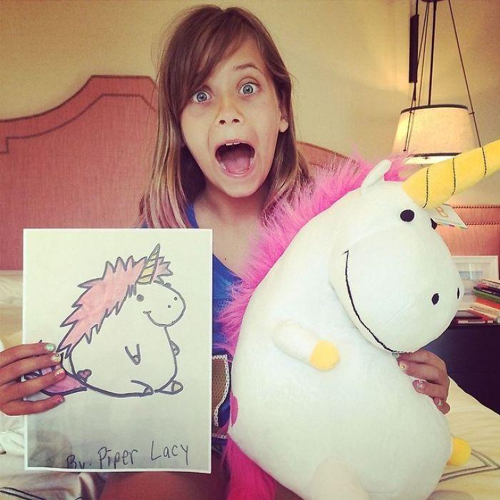 24張「2D小孩塗鴉→真實娃娃」的超成功案例 他分享「把童年實體化」原因網友大讚!