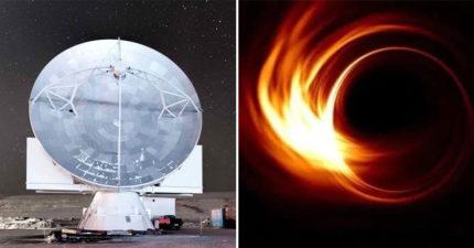人類史上「首張黑洞影像」公佈創7萬人記錄 龍應台:天大的事即將發生!