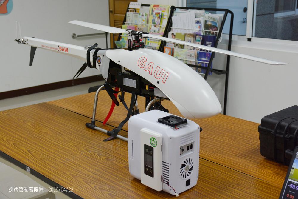 無人機在阿里山「運血清」成功 獨特設計「10分鐘完成救援」成國際首例!
