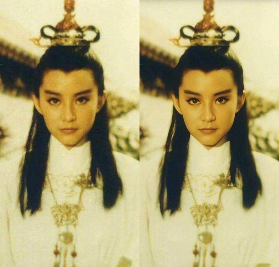 他用「神奇AI技術」修復女明星舊照 王祖賢+林青霞「高清版美顏」網暴動:這才叫女神!