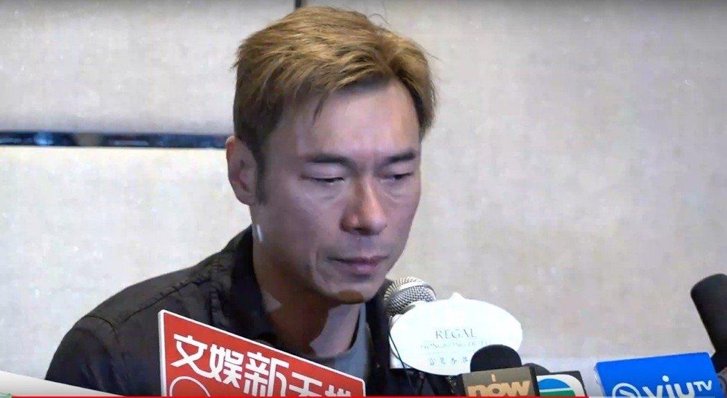 28年感情毀了...許志安偷吃「鄭秀文閨蜜」對話也曝光 他痛哭:我好噁心!