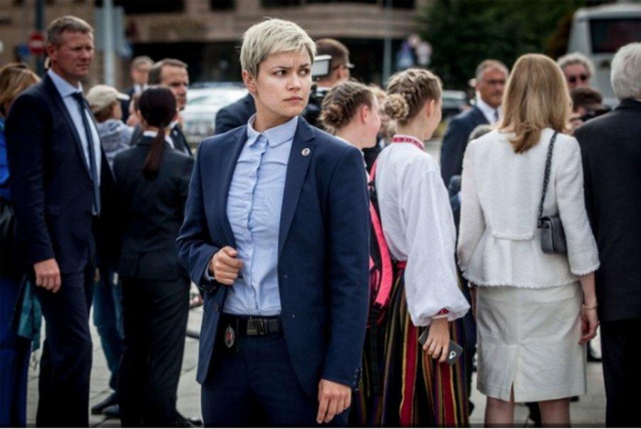 立陶宛總統「最強女保鑣」帥到屌打男生 卻有最害怕的「小生物」整個太反差萌!