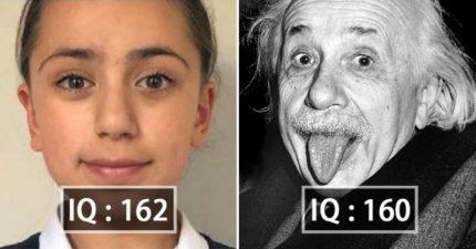 11歲少女「IQ高過愛因斯坦」登上頭版 老爸得知結果超驚訝:沒想到是這個水準!