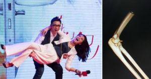 瘦弱男慶祝520「公主抱70公斤女友」耍浪漫 「喀嚓一聲」手斷了!