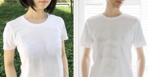 日本推「妄想系T恤」滿足大家的想像 比濕身T恤「更含蓄半透明」網讚:很實穿!