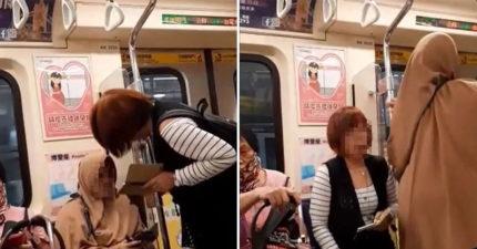 婦人烙英文嗆外籍女「我是老人妳不是」逼讓座 得逞後怒嗆「不教還不會」網友砲翻!