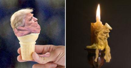 20張網友「惡搞川普下巴」的腦洞大開P圖 變身「普丁的貓咪」萌度破表!