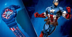 漫威與G Shock聯手打造「限量復仇者手錶」 蜘蛛人版本「背光設計」真的酷!