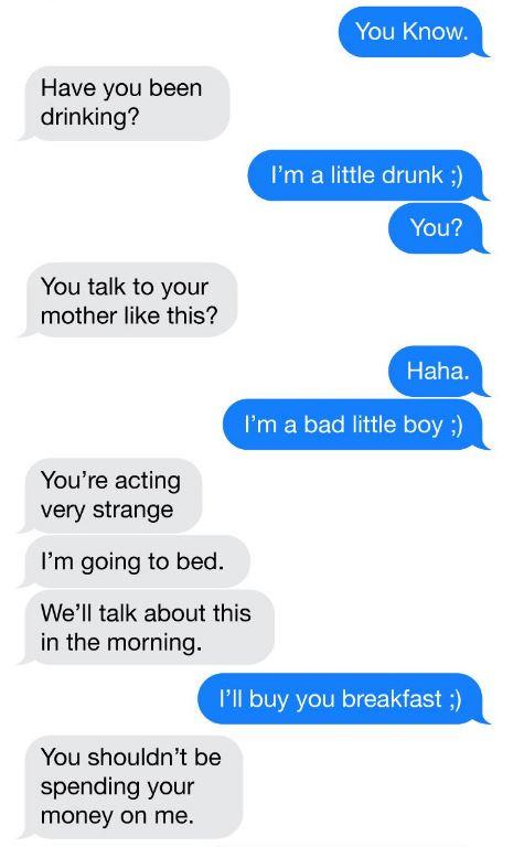 他被朋友惡整「撩妹變撩親媽」還傳羞羞鳥照 她「超毒舌回覆」成為一輩子陰影!